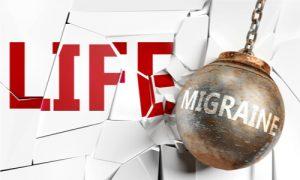 life and migraine, destructive fate